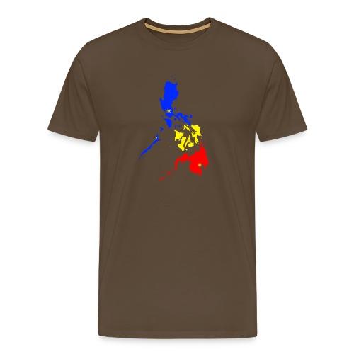 Philippinen Karte - Männer Premium T-Shirt