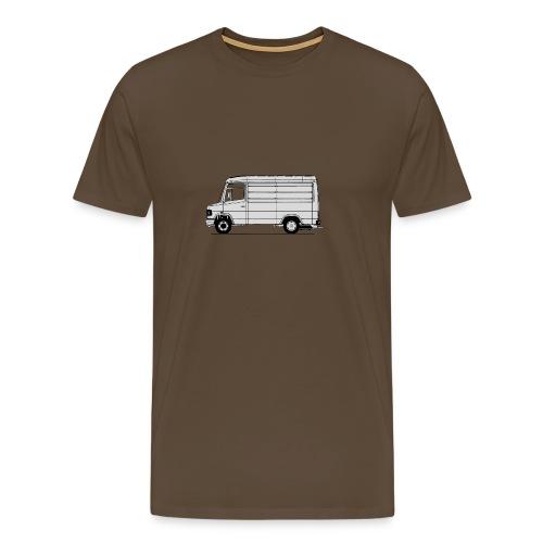 609 kort - Mannen Premium T-shirt