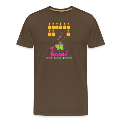 Viking Invaders - Men's Premium T-Shirt