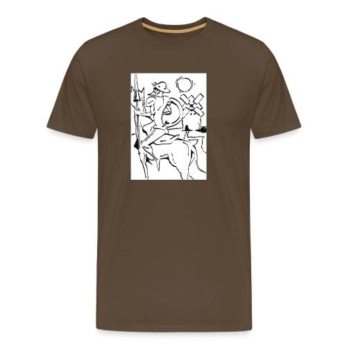 Quijote - Camiseta premium hombre