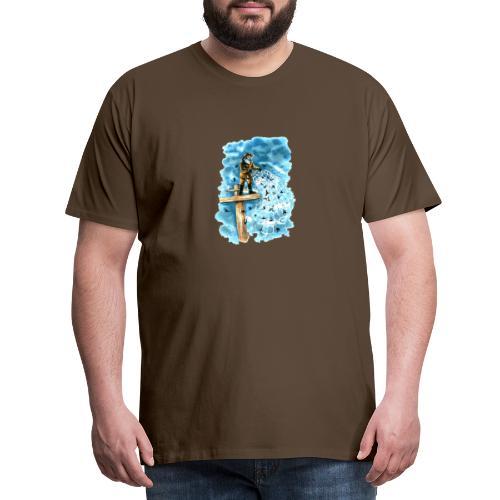 after the storm - Men's Premium T-Shirt
