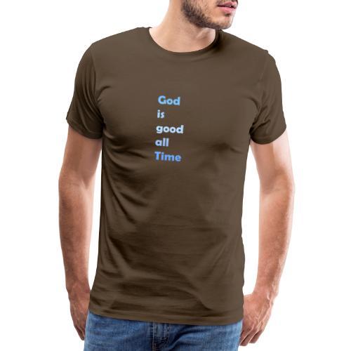 god is good - Men's Premium T-Shirt