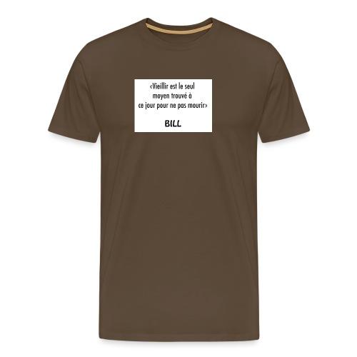 vieillir - T-shirt Premium Homme