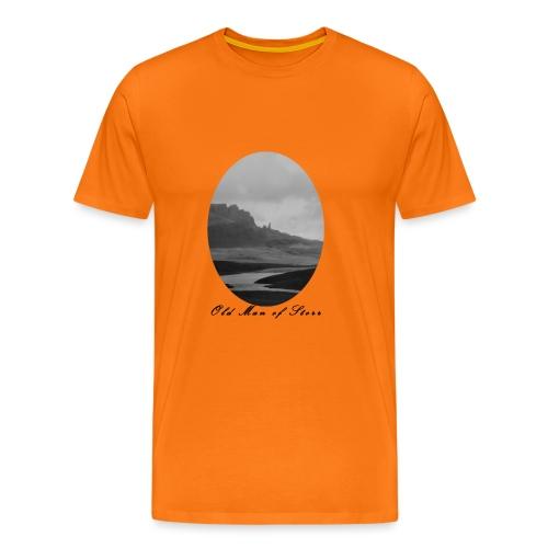 Old Man of Storr (Vintage) - Männer Premium T-Shirt