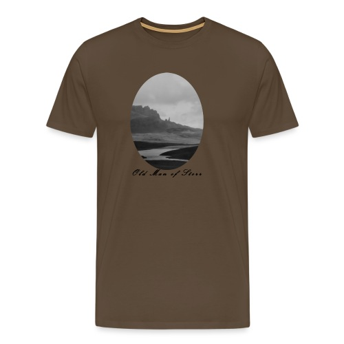Old Man of Storr (Vintage) - Männer Premium T-Shirt