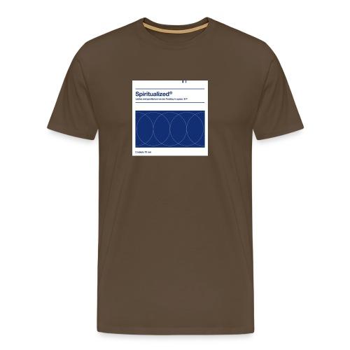 SPIRITUALIZED LOGO - Men's Premium T-Shirt