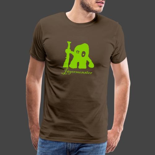 jaegermonster kurven - Männer Premium T-Shirt