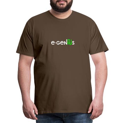 E-Genius Logo - Maglietta Premium da uomo