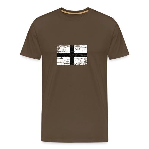 kroazdu distressed - T-shirt Premium Homme