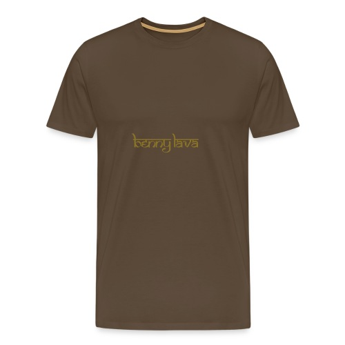 Benny Lava logo - Mannen Premium T-shirt