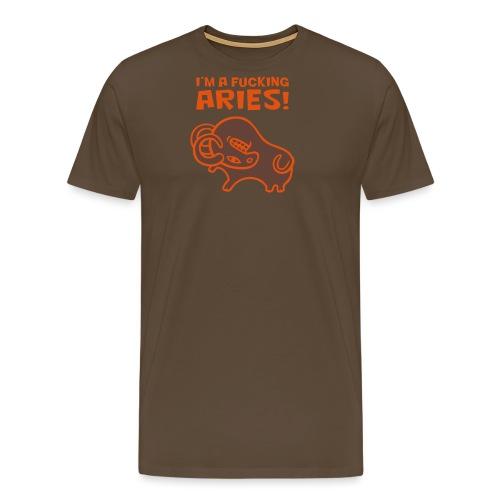 Aries - Maglietta Premium da uomo