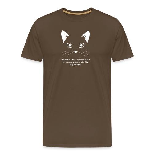 (K)ein T-Shirt mit Katzenhaaren - Männer Premium T-Shirt