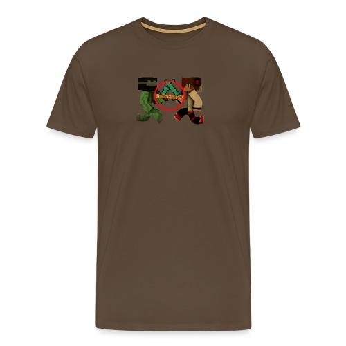 YT-HætteTrøje-Hvid-SimOleGamingDK - Herre premium T-shirt