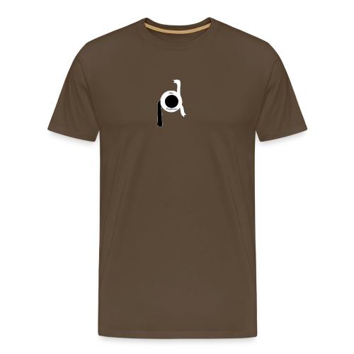 logo Abe Paymans - Mannen Premium T-shirt