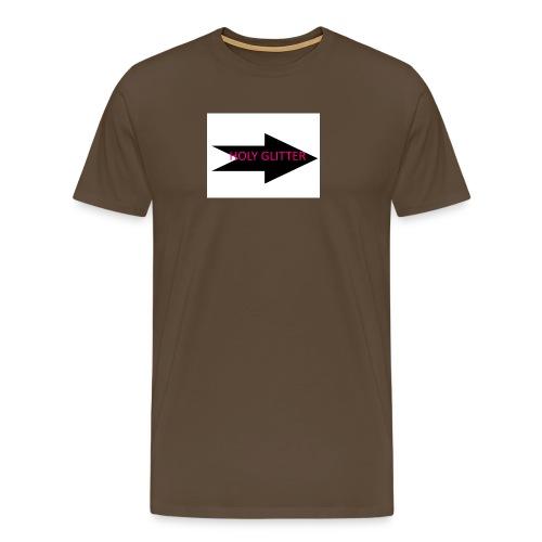 HOLLY GLITTER - Mannen Premium T-shirt