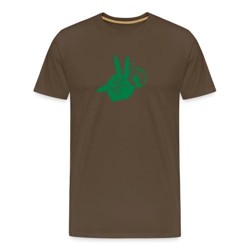 woelivehand new - Männer Premium T-Shirt