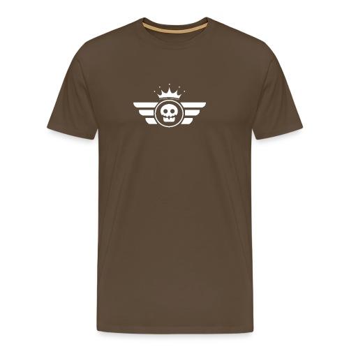 White logo UrbanVipClub - Men's Premium T-Shirt