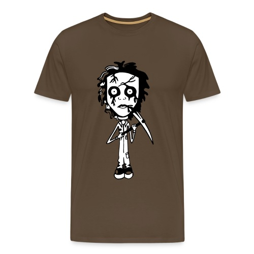 Mike Myers Color Background - Men's Premium T-Shirt