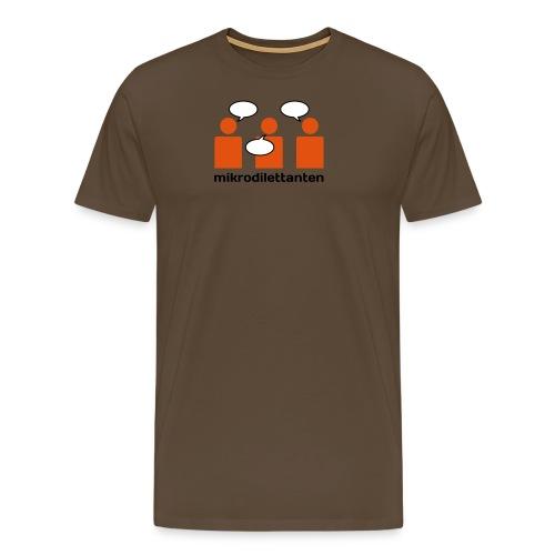 tshirt 3 weiss - Männer Premium T-Shirt