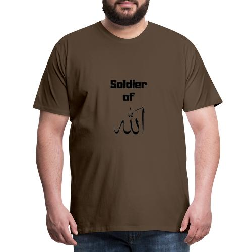 soldier of Allah - Men's Premium T-Shirt