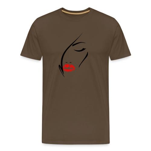 LTL woman lips - Maglietta Premium da uomo