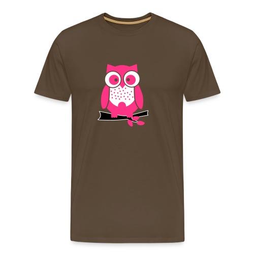 uiltje_rose - Mannen Premium T-shirt