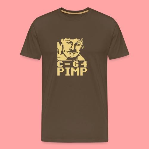 C64 Pimp (for dark bg) - Men's Premium T-Shirt