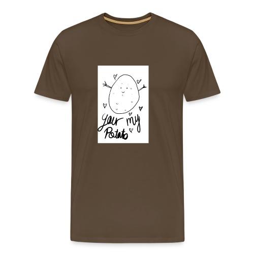 Potato - Premium-T-shirt herr