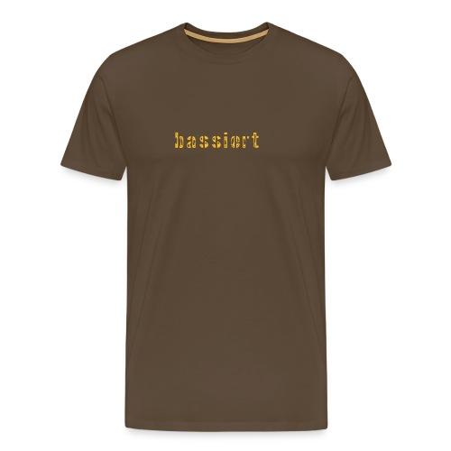 bassiert - Männer Premium T-Shirt
