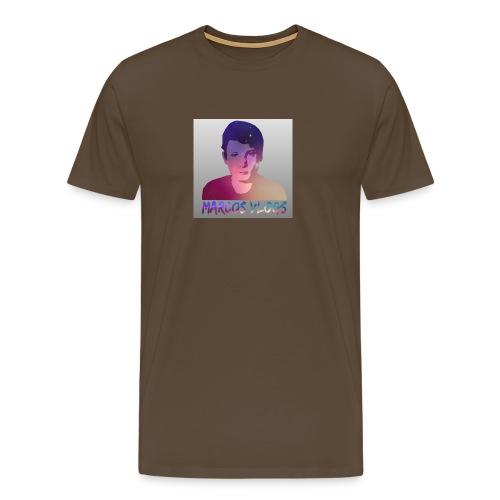 Marcos Vlogs - Herre premium T-shirt