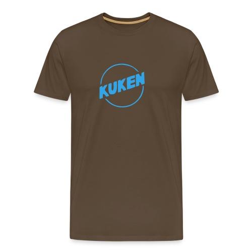 Kuken - Premium-T-shirt herr
