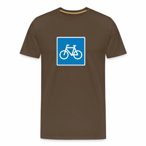 I'm a cyclist - Herre premium T-shirt