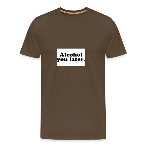 Alcool - T-shirt Premium Homme