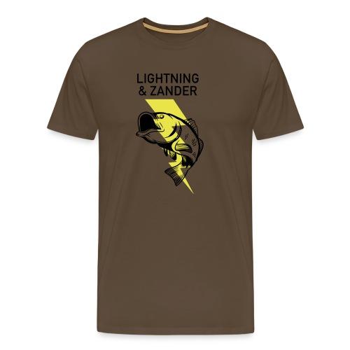 Lightning & Zander - Männer Premium T-Shirt