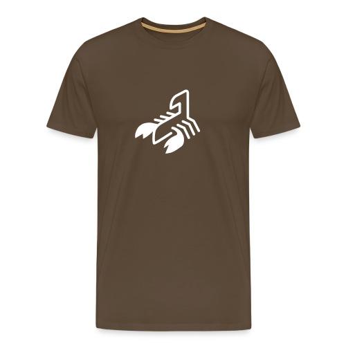 logo scorpion - Camiseta premium hombre