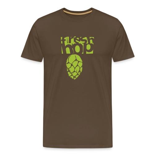 fresh hop cervecearte - Camiseta premium hombre