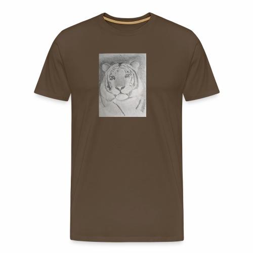 tiger art - Men's Premium T-Shirt