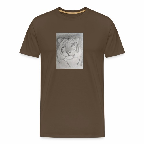 tiger art - Men's Premium T-Shirt