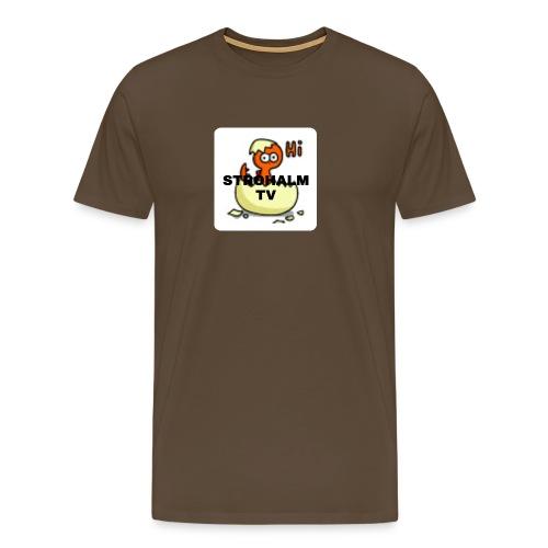 Strohalmskücken - Männer Premium T-Shirt