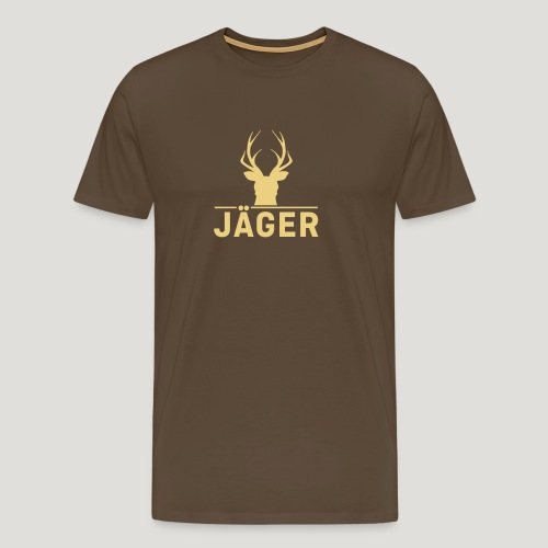 Jäger! Jäger Shirt Jaeger - Männer Premium T-Shirt