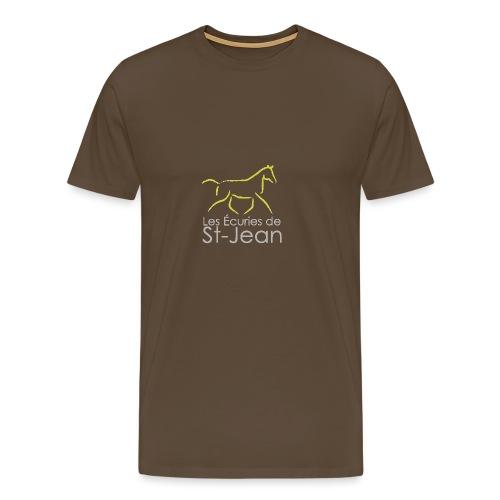 Les Ecuries de St Jean - T-shirt Premium Homme