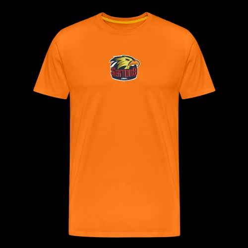 Sektion9 Logo GELB - Männer Premium T-Shirt