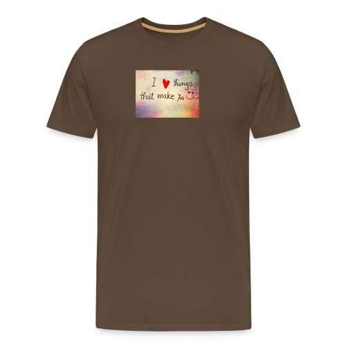 liefdes t-shirts - Mannen Premium T-shirt
