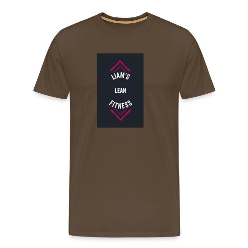 LIAM'S LEAN FITNESS - Men's Premium T-Shirt
