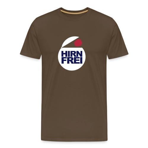 hirnfrei - Männer Premium T-Shirt
