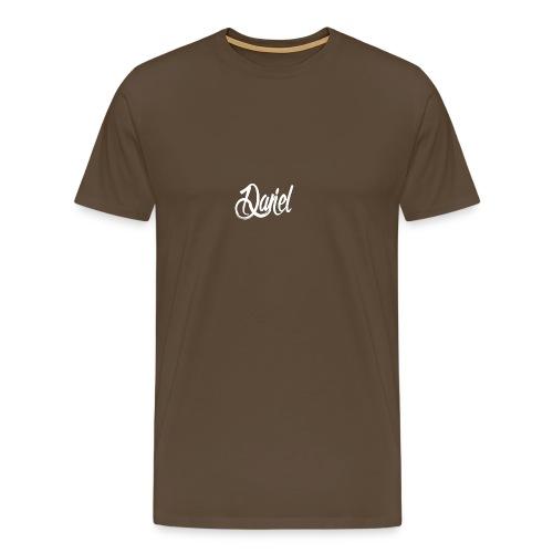 DANIEL contrast hoodie voor mannen - Mannen Premium T-shirt