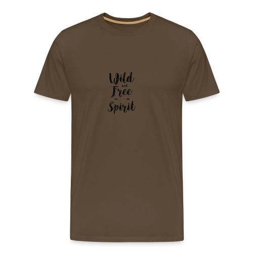 Wild-and-Free-Spirit - Men's Premium T-Shirt