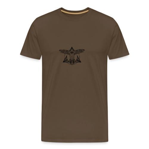frame-parrot - Men's Premium T-Shirt