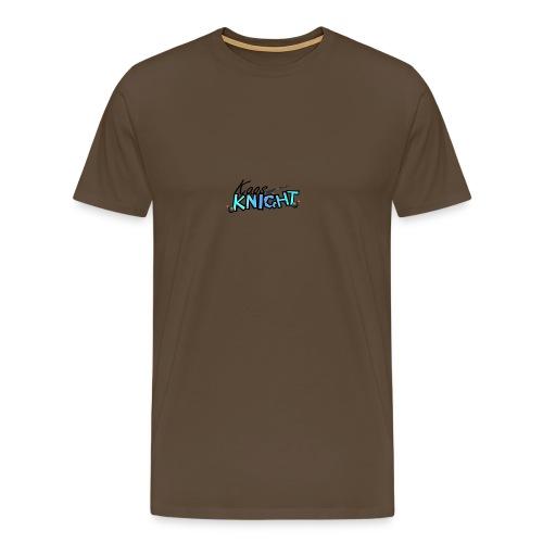kaosknight Schriftzug by BirukDesign - Männer Premium T-Shirt