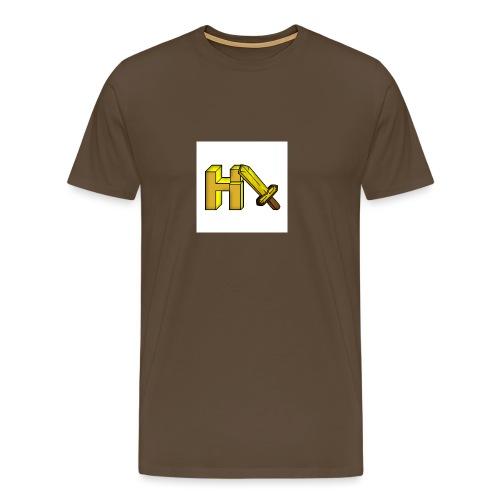 Logo Officiel Heruim - T-shirt Premium Homme